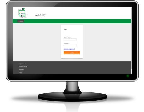 Individuelle Webanwendung Abfall-ABC für den Kreis Höxter - Anmeldung