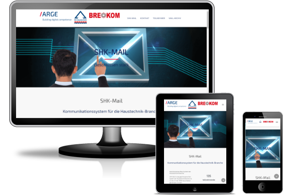 Referenz BT Webdesign - SHK Mail