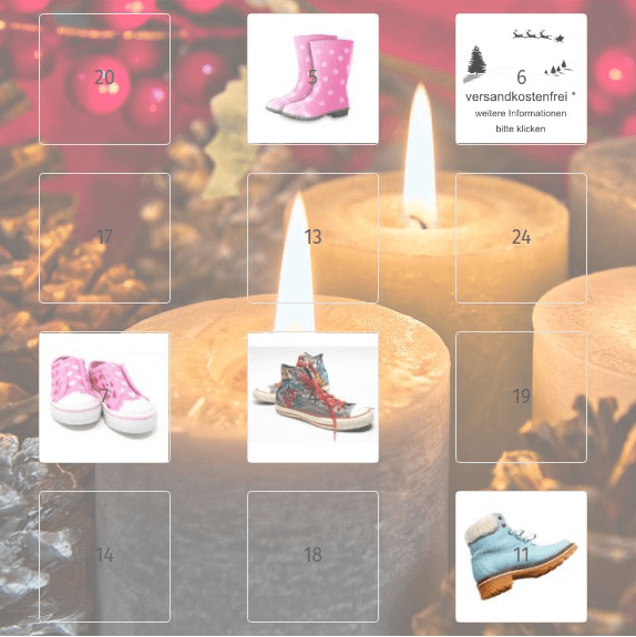 BT Adventskalender für Gambio-Shops